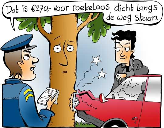 Petitie tegen bomenkap aan N366 waaronder 2800 bomen gekapt zullen worden